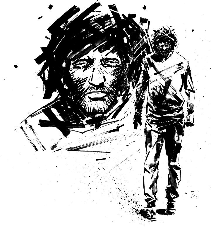 Jesus's Son Character sketch by Eli Powell