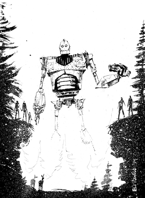 Iron Giant Sketch