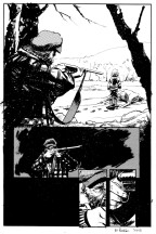 "Sequential Art for ""Deep Velvet"" Thesis Comic by Eli Powell"