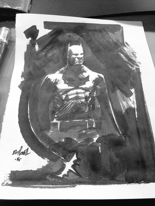 Batman Sketch from June