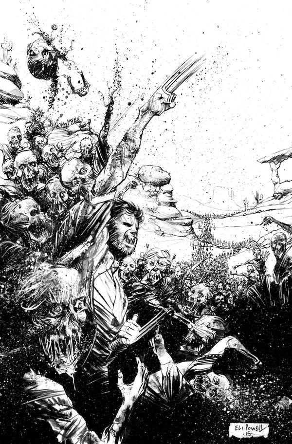 Wolverine V.S. Zombies Commission