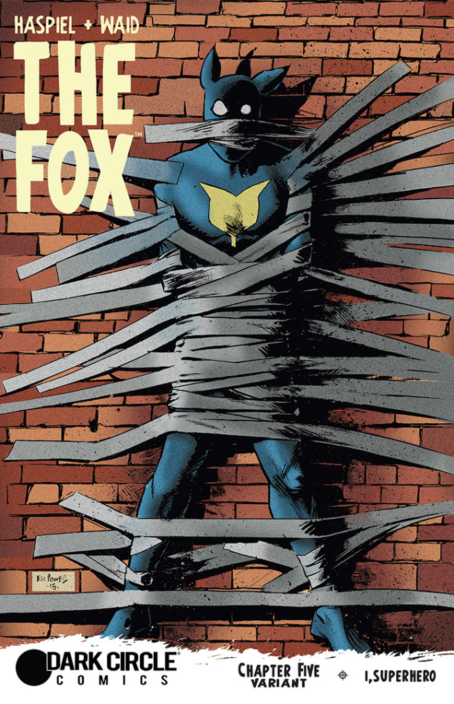 The Fox Issue 5 Alternate Cover for Dark Circle Comics by Eli Powell