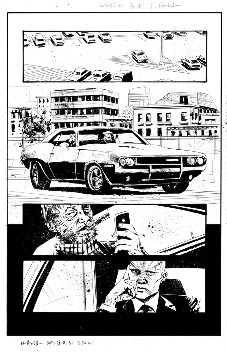 Butcher Sequential Art